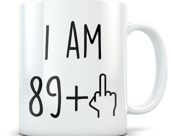 Funny 90th Birthday Gift Mug 90 Year Old Gifts Happy Bday Party Gag