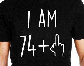 75th Birthday Shirt Gift 75 Years Old Bday Funny Party