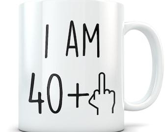Funny 41st Birthday Gift Mug 41 Year Old Gifts Happy Bday Party Gag