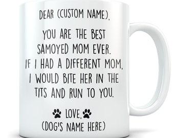 Samoyed gifts for women, Samoyed mom, Samoyed gifts, Samoyed mug, Samoyed mom mug, Samoyed lover, Cute Samoyed gift, Samoyed dog owner