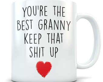 Granny gifts, funny granny gift, granny mug, granny coffee mug, granny gift idea, granny birthday gift, best granny mug, best granny gift