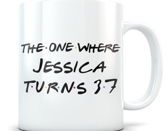 Funny 37th Birthday Gift Mug 37 Year Old Gifts Happy Bday Party Gag