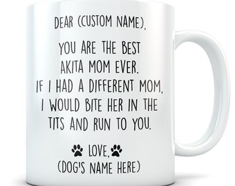 Akita gifts for women, akita mom, akita gifts, akita mug, akita mom mug, akita lover, akita dog, Cute akita Gift Idea, funny akita gift