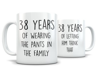 38th anniversary gifts for men and women, 38th anniversary gift for couple, 38 anniversary, 38 year anniversary, 38th wedding anniversary