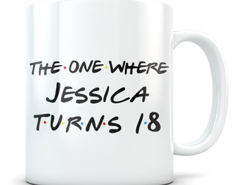 Funny 18th Birthday Gift Mug 18 Year Old Gifts Happy Bday Gag