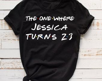 number 23 birthday shirt