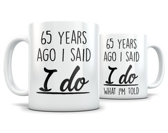 65th Anniversary Gifts For Men And Women Gift Couple 65 Year Wedding