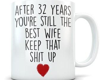 32nd anniversary gifts for women, 32nd anniversary gift for her, 32 anniversary, 32 year anniversary, 32nd wedding anniversary