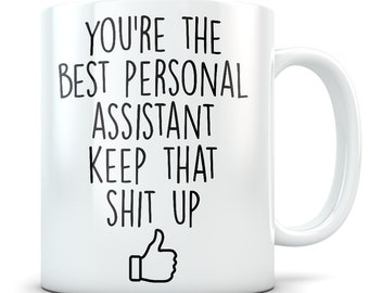 3da96333 Personal assistant gift, personal assistant mug, personal assistant cup,  personal assistant gift idea, funny personal assistant thank you