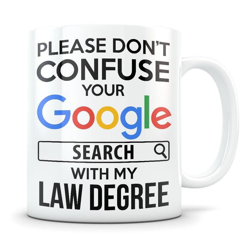 Law School Graduation Gift Lawyer Mug
