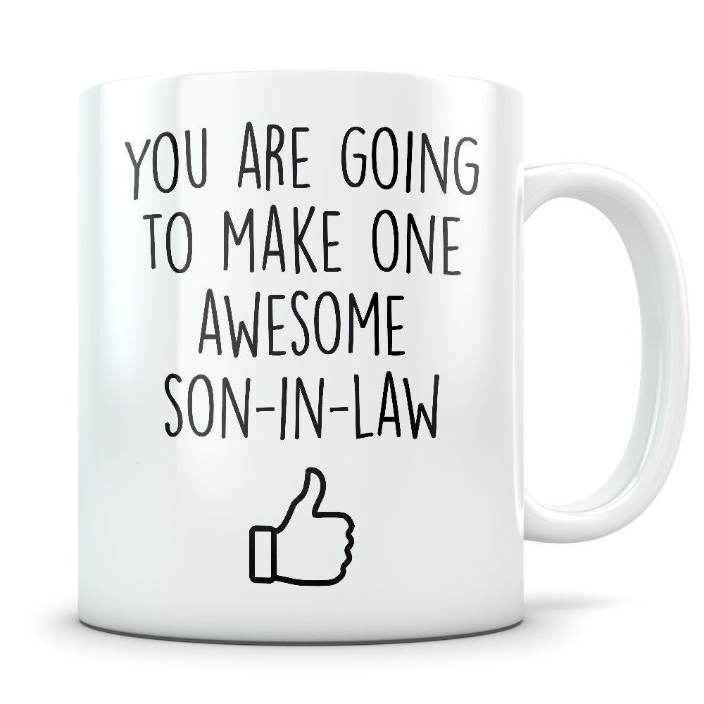 Son In Law Gift Mug Coffee