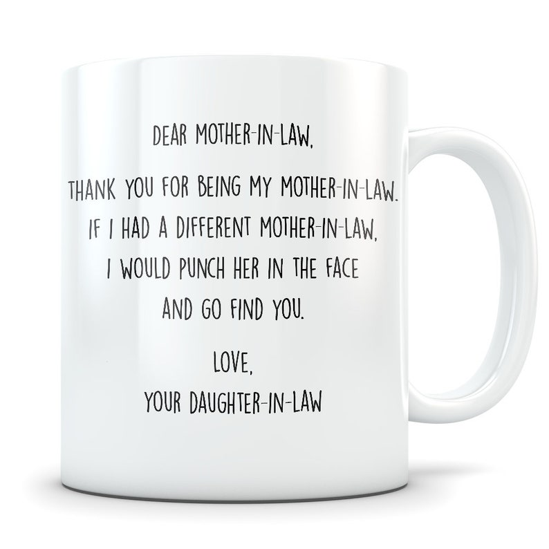 Best Mother In Law Mug Gift From Daughter