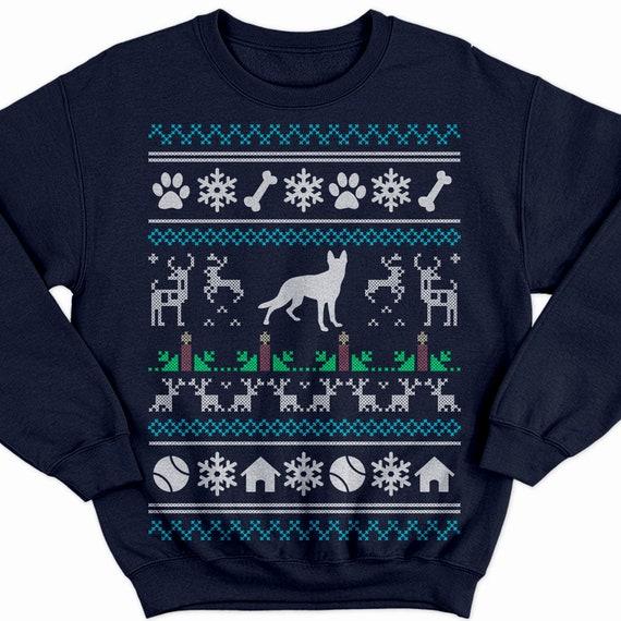 German Shepherd Christmas Sweater.German Shepherd Christmas Sweater Shepherd Shirt Shepherd Sweatshirt Shepherd Sweater Shepherd Gift Dog Christmas Sweater