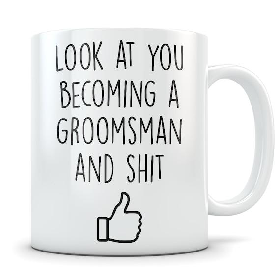 Groomsmen Gift Groomsmen Mug Groomsmen Gift Idea Wedding Etsy