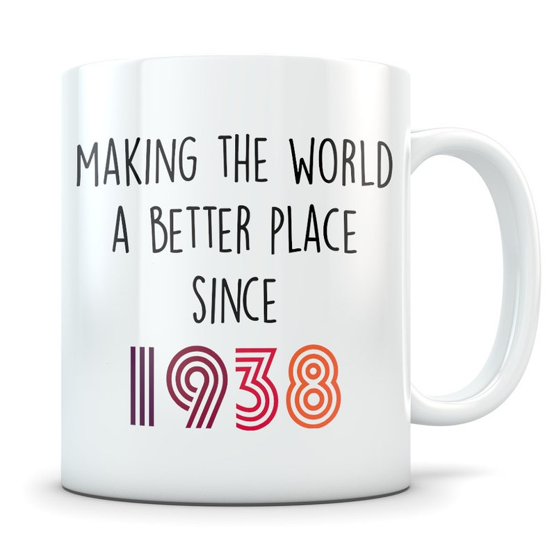 Funny 81st Birthday Gift Mug 81 Year Old