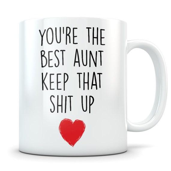 Aunt Gifts Funny Gift Mug Coffee