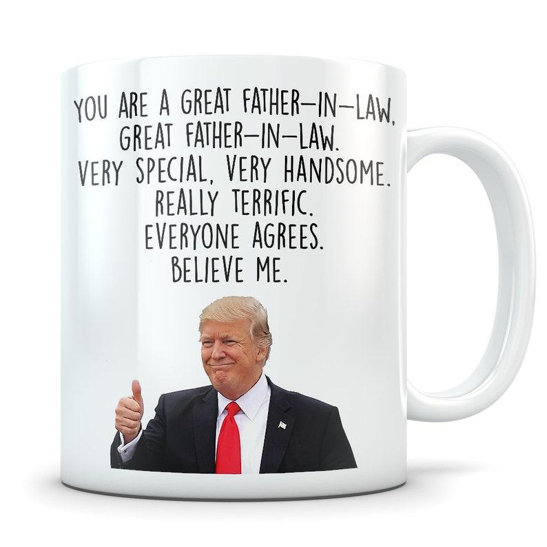 8145776e81f Trump Father In Law Mug funny trump gift father-in-law | Etsy