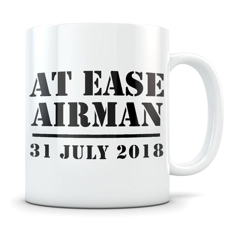 Air Force Retirement Gift for Men, Retired Air Force Gift, Air Force  Retirement Mug, Retiring Airman, Funny Airman Retirement Gag Gift