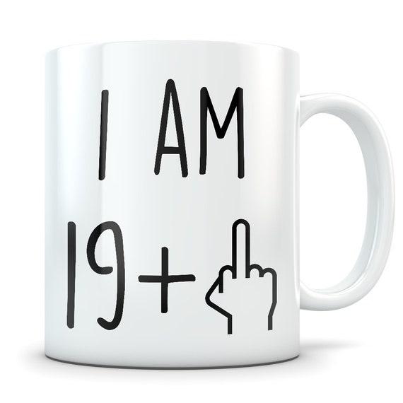 Funny 20th Birthday Gift Mug 20 Year Old Gifts Happy Bday Gag