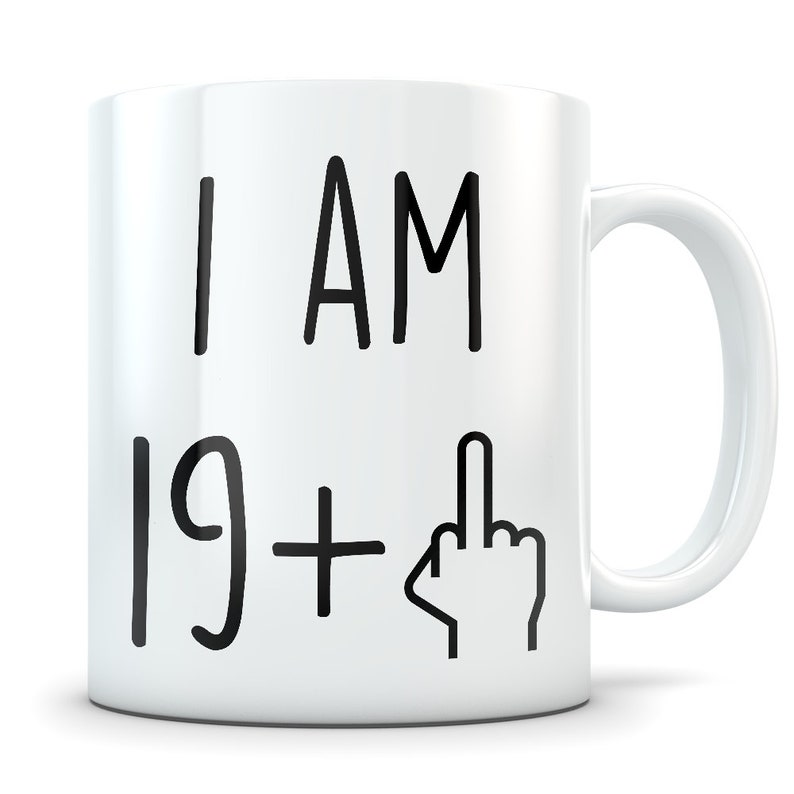 Funny 20th Birthday Gift Mug 20 Year Old