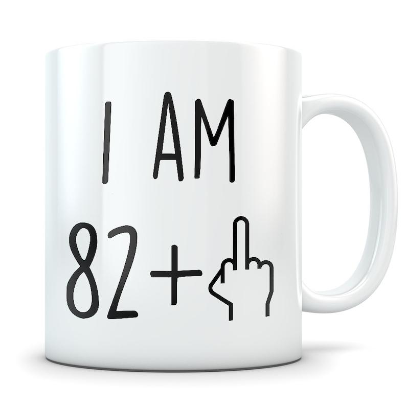 Funny 83rd Birthday Gift Mug 83 Year Old