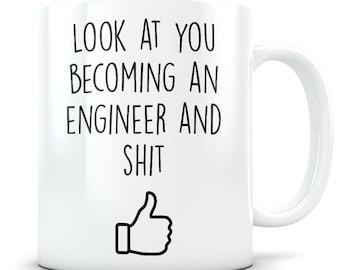 Engineering graduation gift, Engineer mug, Engineer gift, Engineering student, Engineering graduate, Engineer School gift, Engineering mug