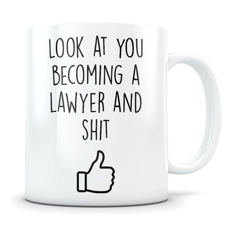 Law School Graduation Gift Lawyer Graduation Lawyer Mug