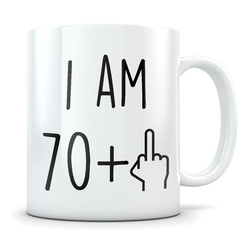 Funny 71st Birthday Gift Mug 71 Year Old