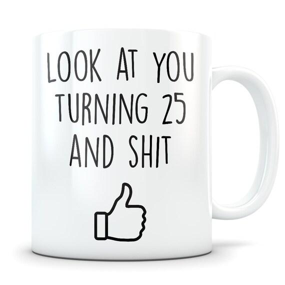 25th Birthday Gift For Women And Men Mug 25