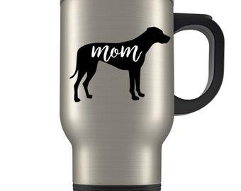 Rhodesian Ridgeback mom Travel Mug, Rhodesian Ridgeback gifts for women, Rhodesian Ridgeback gifts, Rhodesian Ridgeback mug, Ridgeback gifts