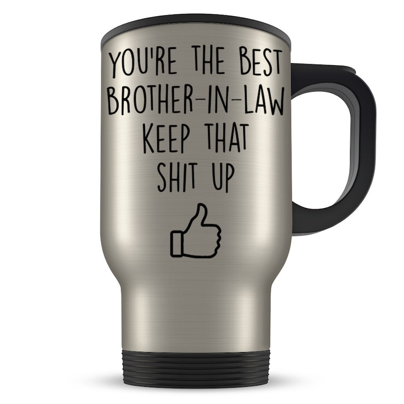 Best Brother In Law Travel Mug Gift