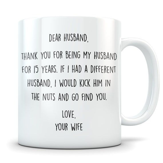 15th Anniversary Mug