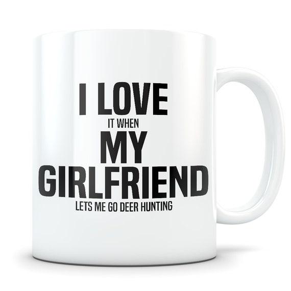 Deer Hunting Mug Gift For Boyfriend