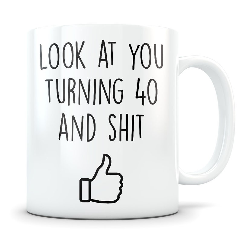 40th Birthday Gift For Women And Men Mug 40