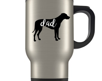 Rhodesian Ridgeback dad Travel Mug, Rhodesian Ridgeback gifts for men, Rhodesian Ridgeback gifts, Rhodesian Ridgeback mug, Ridgeback gifts