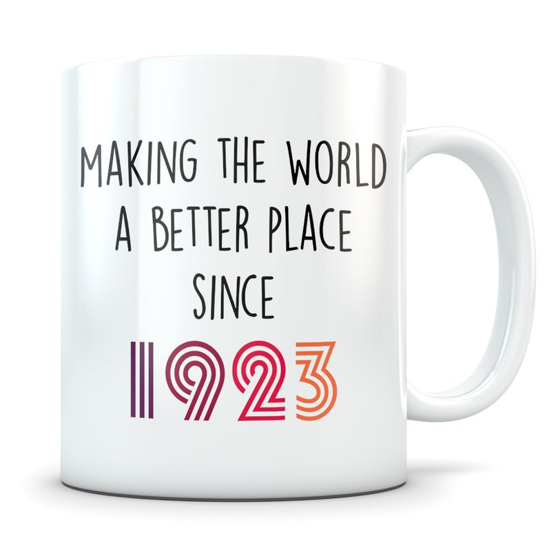 Funny 96th Birthday Gift Mug 96 Year Old