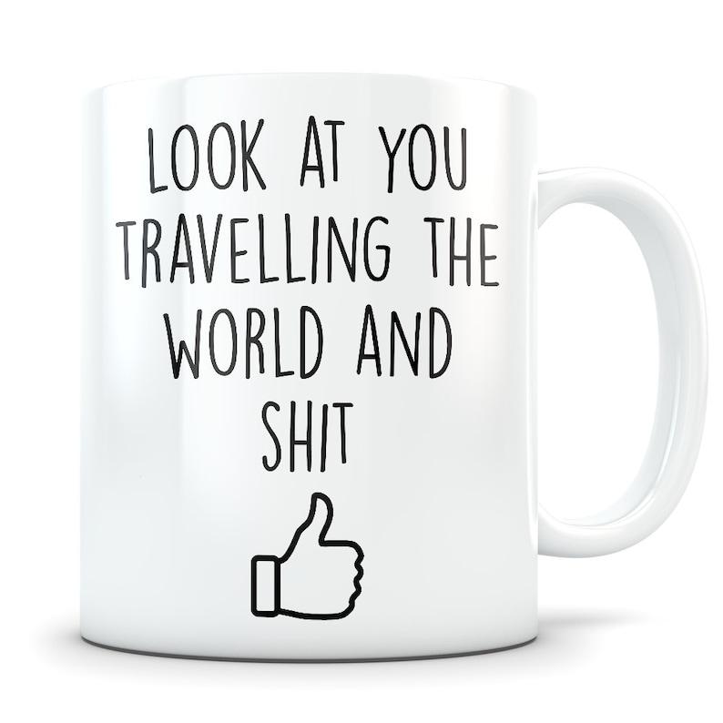 Traveler gift travel gift for men and women world traveler image 0
