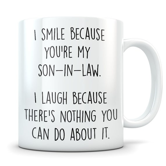 Son In Law Gifts Mug Gift From Mother Father Groom