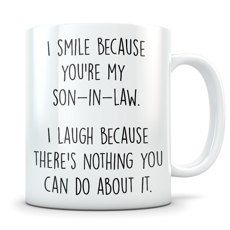 Son In Law Gifts Mug