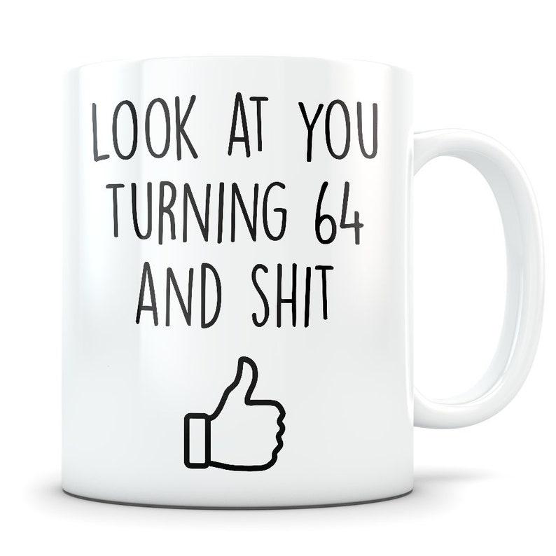 64th Birthday Gift For Women And Men Mug 64