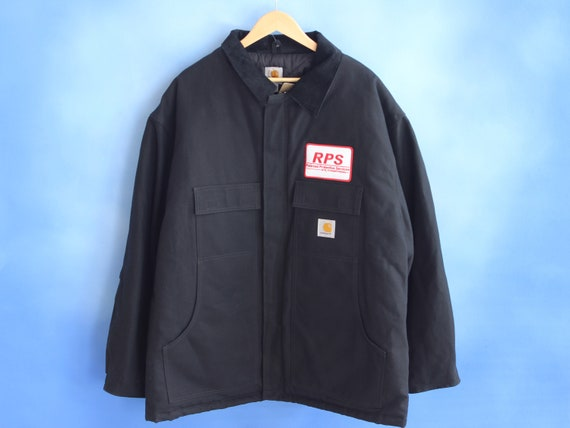 CARHARTT 1990s QUILTED JACKET \\ heavy duty carhar