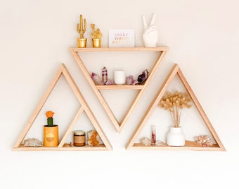 Wooden shelf or shelves