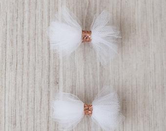 Ballerina Tulle Bows Set of 2