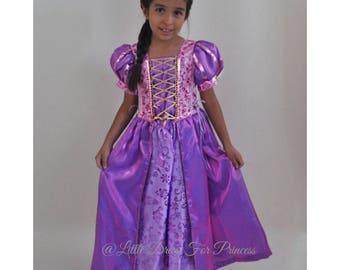 f297247ea Rapunzel Princess Dress /Tangled Dress Girl/ Inspired Disney Princess  Rapunzel Dress/Ball Gown Style for Toddler,Child,Girl/Princess Dress