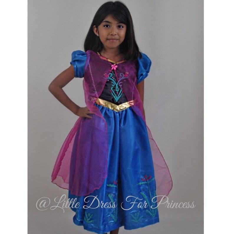 e4c861d1fef9 Princess Anna Dress /Inspired Disney Princess Anna Dress/Ball | Etsy