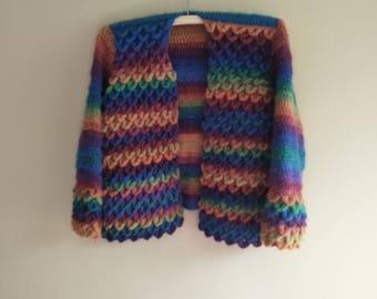 Crocodile stitch jacket