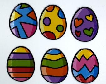 Easter Egg Colorful Magnets, Easter Scavenger Hunt Eggs, Easter Basket Stuffers for Kids