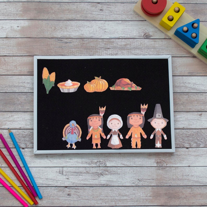 Thanksgiving Felt Board Stories  Early Learning Montessori image 0