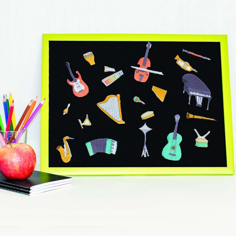 Musical Instruments Felt Board Stories  Early Learning for image 0