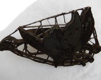 Tjap cuivre antique - batik indonésien impression tampon - papillon